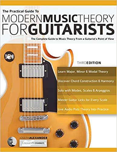 best guitar book for beginnners self-teaching - The Practical Guide to Modern Music Theory for Guitarists