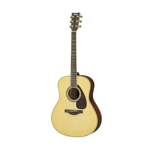 Yamaha LL6 with ARE low action acoustic guitar